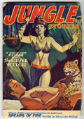 Pulps:Adventure, Jungle Stories V5#8 (Fiction House, 1953) Condition: VG+. Bookery's Guide to Pulps VG value = $30....