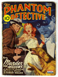 """Pulps:Hero, The Phantom Detective - June 1945 (Standard Magazines, 1945) Condition: VG. """"Murder for Millions."""" Classic cover. Bookery's ..."""