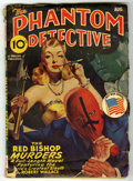 "Pulps:Hero, The Phantom Detective V42#1 (Standard Magazines, 1943) Condition: VG. ""The Red Bishop Murders."" Off-white pages, no tanning...."