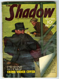 Pulps:Detective, Shadow V38#1 (Street & Smith, 1941) Condition: VG/FN. Off-whitepages. No tanning. Bookery's Guide to Pulps VG 4.0 value = $...