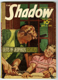 Pulps:Detective, Shadow V39#1 (Street & Smith, 1941) Condition: VG+. Violentcover image. Off-white pages. No tanning. Bookery's Guide to Pul...