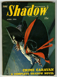 Shadow V47#2 (Street & Smith, 1944) Condition: FN/VF. Off-white pages. No tanning. Bookery's Guide to Pulps FN 6.0 v...