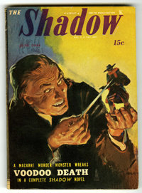 Shadow V47#3 (Street & Smith, 1944) Condition: FN/VF. Off-white pages. No tanning. Bookery's Guide to Pulps FN 6.0 v...