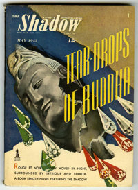Shadow V49#3 (Street & Smith, 1945) Condition: VF. Off-white pages with no tanning. Bookery's Guide to Pulps FN 6.0...