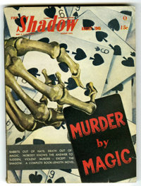 Shadow V49#6 (Street & Smith, 1945) Condition: VF-. Off-white pages. No tanning. Bookery's Guide to Pulps FN 6.0 val...