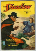 """Pulps:Detective, Shadow V54#5 (Street & Smith, 1949) Condition: FN-. """"TheMagigals Mystery."""" Bookery lists as """"scarce."""" Off-white pages, not..."""