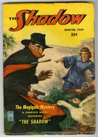 "Shadow V54#5 (Street & Smith, 1949) Condition: FN-. ""The Magigals Mystery."" Bookery lists as ""scarce..."