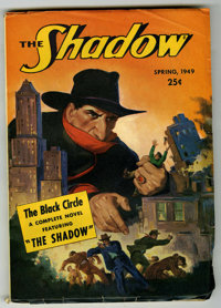 "Shadow V54#6 (Street & Smith, 1949) Condition: VG/FN. ""The Black Circle."" Classic cover. Bookery lists as..."
