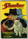 "Pulps:Detective, Shadow V55#1 (Street & Smith, 1949) Condition: VG/FN. ""TheWhispering Eyes."" Final issue, Bookery lists as ""uncommon.""Off-w..."