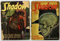 Pulps:Detective, Shadow Group (Street & Smith, 1939-40) Condition: Average GD.Includes the December 1, 1939 issue (second appearance of Shiw...(Total: 2 Items)