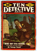 Pulps:Detective, Ten Detective Aces V50#4 (Ace Magazines, Inc., 1945) Condition:VG+. Off-white pages with no tanning. Bookery's Guide to Pul...