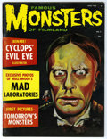Magazines:Horror, Famous Monsters of Filmland #7 (Warren, 1960) Condition: FN. Painted cover features Zacherly. Three different covers exist (...