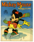 "Golden Age (1938-1955):Cartoon Character, Mickey Mouse Magazine V5#6 (K. K. Publications, Inc., 1940)Condition: VG. ""Tugboat Mickey"" feature story. Rip Van Winkle fe..."
