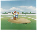 "Animation Art:Limited Edition Cel, ""Wind Up"" Limited Edition Hand Painted Cel #122/200 Original Art(Walter Lantz Productions, 1992). This hand painted limited...(Total: 2 Item)"