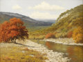 Texas:Early Texas Art - Impressionists, PALMER CHRISMAN (1913-1984). Untitled Hill Country Autumn. Oil oncanvas. 18in. x 24in.. Signed lower left. Palmer Chrisma...