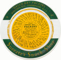 """Football Collectibles:Others, 1960 Green Bay Packers """"Sneezer's Snack Shop"""" Original Ashtray - With Facsimile Signatures! ..."""