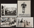 Football Collectibles:Photos, 1960's Green Bay Packers Hall of Famers Vintage Original Photographs Lot of 4 - With Lombardi, Hornung, Taylor etc....