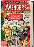 Silver Age (1956-1969):Superhero, The Avengers #1-80 Bound Volumes (Marvel, 1963-70).... (Total: 4Items)