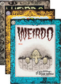 Modern Age (1980-Present):Alternative/Underground, Weirdo Robert Crumb Signed Group (Last Gasp, 1981-93).... (Total:16 Comic Books)