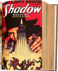 Pulps:Hero, Shadow Bound Volumes from the Library of Walter Gibson (Street & Smith, 1932-33).... (Total: 2 Comic Books)