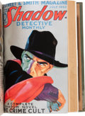 Pulps:Hero, Shadow February-July '32 Bound Volume from the Library of Walter Gibson (Street & Smith, 1932)....