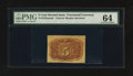 Fractional Currency:Second Issue, Fr. 1232SP 5¢ Second Issue Narrow Margin Back PMG Choice Uncirculated 64.. ...