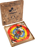 Memorabilia:Disney, Mickey Mouse Ring Quoits Boxed Game (Chad Valley, 1930s)....