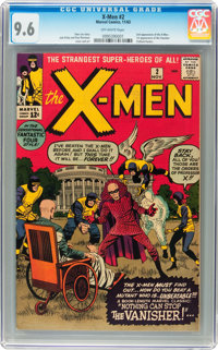 X-Men #2 (Marvel, 1963) CGC NM+ 9.6 Off-white pages