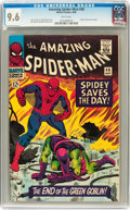 Silver Age (1956-1969):Superhero, The Amazing Spider-Man #40 (Marvel, 1966) CGC NM+ 9.6 White pages....