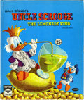 Memorabilia:Disney, Uncle Scrooge the Lemonade King Signed by Carl Barks (Whitman, 1960) Condition: Apparent VF+....