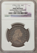 Early Half Dollars, 1795/1795 50C -- Improperly Cleaned -- NGC Details. Fine. O-112,R.4....