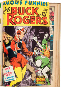 Famous Funnies #205-212 Bound Volume (Eastern Color, 1953-54)