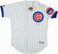 Baseball Collectibles:Uniforms, Greg Maddux Signed Chicago Cubs Jersey....