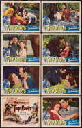 """Movie Posters:Drama, Tap Roots (Universal International, 1948). Lobby Card Set of 8 (11"""" X 14""""). Drama.. ... (Total: 8 Items)"""