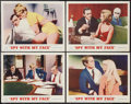 """Movie Posters:Action, The Spy with My Face (MGM, 1965). Lobby Cards (4) (11"""" X 14""""). Action.. ... (Total: 4 Items)"""