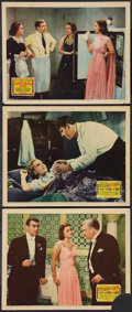 """Movie Posters:Adventure, The Rains Came and Other Lot (20th Century Fox, 1939). Lobby Cards(3) (11"""" X 14""""). Adventure.. ... (Total: 3 Items)"""