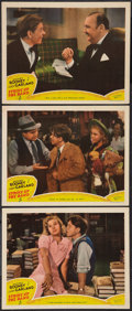 "Movie Posters:Musical, Strike Up the Band (MGM, 1940). Lobby Cards (3) (11"" X 14""). Musical.. ... (Total: 3 Items)"
