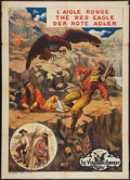 """Movie Posters:Western, Red Eagle (General, 1911). French Grande (38"""" X 55""""). Western.. ..."""