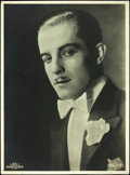 "Movie Posters:Photo, Ramon Novarro (MGM/ Parufamet, 1920s). German Portrait Photo 11.25""X 15.25""). Photo.. ..."