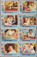 """Movie Posters:Romance, Madame (Embassy, 1963). Lobby Card Set of 8 (11"""" X 14""""). Romance.. ... (Total: 8 Items)"""