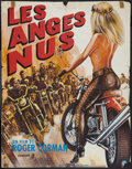 "Movie Posters:Exploitation, Naked Angels (Alpha France, 1970). French Affiche (22.5"" X 29"").Exploitation.. ..."