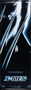 "Movie Posters:Science Fiction, X-Men (20th Century Fox, 2000). Banner Set of 6 (24"" X 71"").Advance. Science Fiction.. ... (Total: 6 Items)"