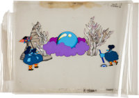 Yellow Submarine Blue Meanies Production Cel Set-Up Original Art (UA/King Features Syndicate, 1968)