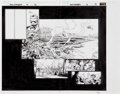 Original Comic Art:Panel Pages, David Finch and Danny Miki New Avengers #6 Page 12 and 13Original Art (Marvel, 2005)....
