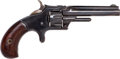 Handguns:Single Action Revolver, Smith & Wesson Model Number One, 3rd Issue Pocket Revolver....