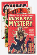 Golden Age (1938-1955):Miscellaneous, Comic Books - Assorted Controversial Golden Age Comics Group (Various Publishers, 1940s-'50s) Condition: Average GD/VG.... (Total: 9 Comic Books)
