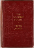 Books:Literature Pre-1900, Henry James. The Sacred Fount. London: Methuen, 1901. FirstEnglish edition. Octavo. 316 pages. Publisher's bind...