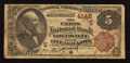 National Bank Notes:Kentucky, Louisville, KY - $5 1882 Brown Back Fr. 471 The Union NB Ch. #(S)4145. ...
