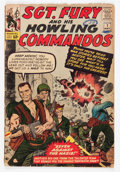 Silver Age (1956-1969):War, Sgt. Fury and His Howling Commandos #1 (Marvel, 1963) Condition: FR....