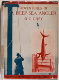 Books:Books about Books, [Zane Grey, Introduction]. R[omer] C. Grey. Adventures of a Deep-Sea Angler. New York: Harper, 1930. First edition o...